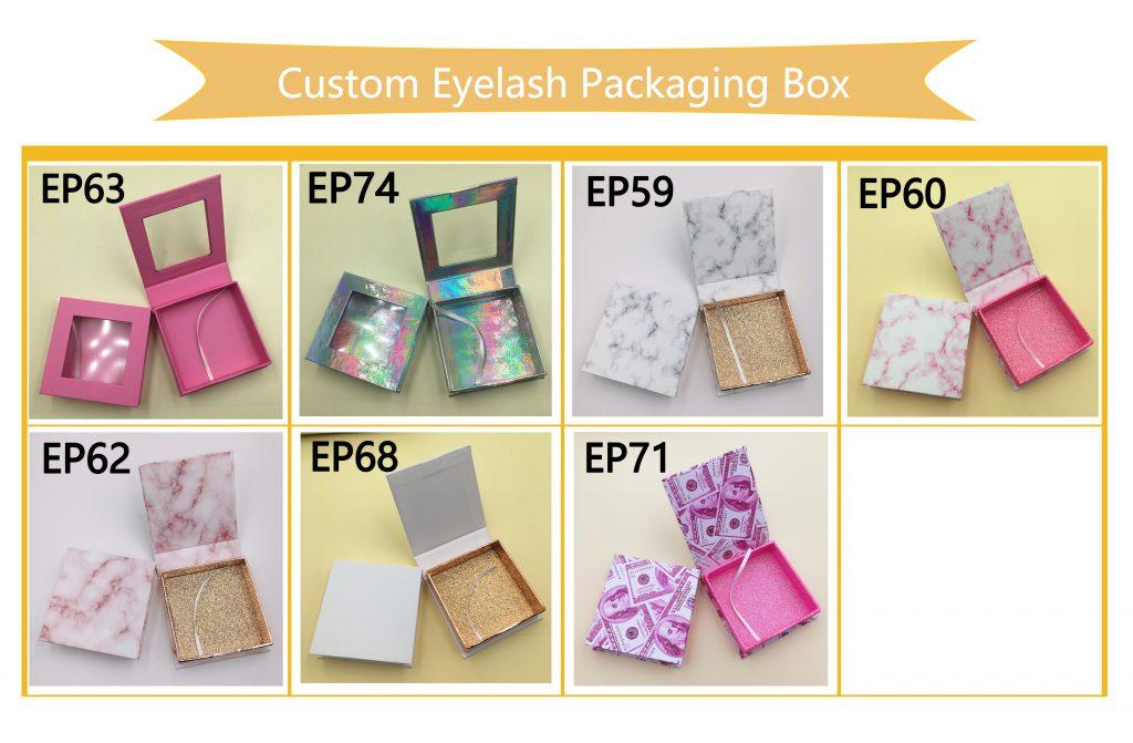 Square Eyelash Packaging Box